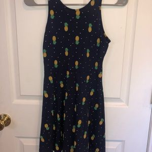 Girls pineapple dress